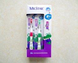 Tandenborstel voor kinderen met CAN Print Picture Child-tandenborstel Zuigt een kindtandenborstel met zachte borstelharen