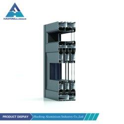 북미 알루미늄 압출 슬라이딩 창문 외부/실내 알루미늄 프로파일 재질 작성