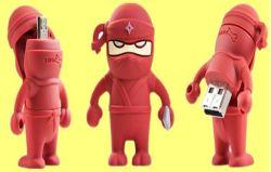 Personnage de bande dessinée Android les lecteurs Flash USB OTG (OM-P408)