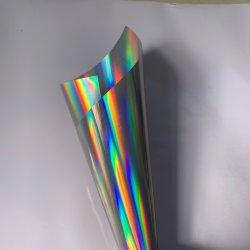 فيلم ديكير لاصق ذاتي ملصق ورقة PVC الحيوانات الأليفة ورق ملصقات لفافة ورق الغشاء صورة ثلاثية الأبعاد ليزر صورة جرام 1.22*50 م 1 ملصق لفافة