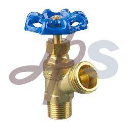Material NSF-61 Válvula de purga da caldeira de latão para sistema de irrigação