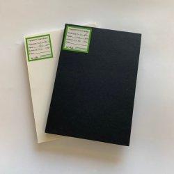 Мелованная бумага из пеноматериала с жесткого на обеих сторонах бумаги