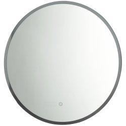 Smart Roid contemporáneo Lavabo ronda el LED de batería LED Baño Espejo