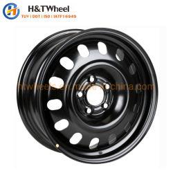 H&T 휠 675c01 16X6.5 5X130 새로운 디자인 실버 페인팅 16 인치 스틸 자동차 휠 림
