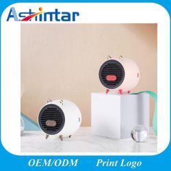 携帯用部屋の冬の速い暖房の一定した温度の安全なブタの電気ファンヒーター