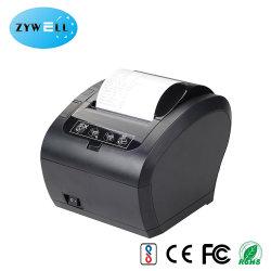 USB Bluetooth 열전사 영수증 프린터 80mm 청구 프린터 POS 시스템 Zy306