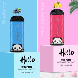 2020 جديدة [فبوريزر] مستهلكة [فب] [فبينغ] سيجارة إلكترونيّة 12 نكهات