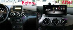 Новый GPS Android 9.0 Car видео плеер для Mercedes Benz B класс W246 2012-2017 автомобильная аудиосистема