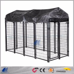 PET House PET PET con rivestimento a polvere a rete saldata per interno Playpen