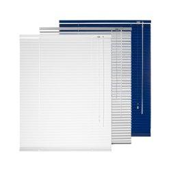 2019 Nuevo personalizado Blanco/Verde/Azul/Plata Horizontal 50mm/35mm/25mm/16mm/ PVC persianas venecianas de aluminio
