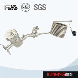 La Chine en acier inoxydable de grade alimentaire sanitaires Manuel distributeur d'échantillonnage aseptiques avec de la mousse disjoncteur (JN-SPV2002)