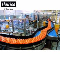 Transportband van de Ketting van de Riem van Hairise kan de Plastic voor Fles Drank