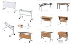 Joint du panneau avant de bonne qualité prix bon marché Table pliante jambe métalliques en acier