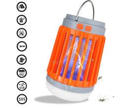 Moskito-Mörder 2 in 1 aufladenplageRepeller des LED-kampierendem Licht-Solar/USB für zuhause und draußen