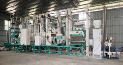 30tpd المعدات الزراعية عالية الجودة كاملة بادي رايس آلة التفريز سعر مصنع معالجة الأرز