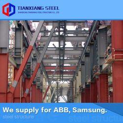 Diseñado ecológica principal de la estructura de acero reciclado eficaz