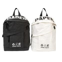 Matériau de papier Kraft RPET Sac à dos sac sac à dos de la vie quotidienne de la mode sac à dos de l'École de sport de loisirs
