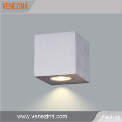Fabrik-Preis reines Aluminium-PFEILER LED Wand-Licht mit 9V LED Wand-Unterlegscheibe-Licht des Fahrer-LED