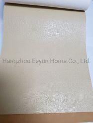 70%PVC 30%Polyester Veloursleder-weiches samtartiges ledernes Polsterung-Sofa-Gewebe