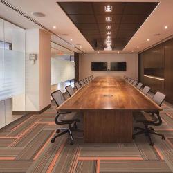 Venda por grosso de fábrica Home azulejos do tapete tapetes comerciais Office Carpet Hotel Carpet Tapete Modular de PP betume de superfície de Cinema de apoio azulejos alcatifa