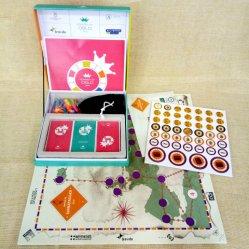 Jeu de conseil en gros d'usine OEM Custom Impression de cartes et de la fabrication amusant jeu de table pour les adultes aux Jeux de Table