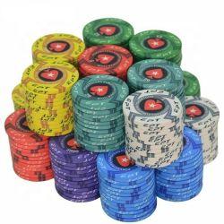 China 10g fichas de póquer de cerámica de Pokerstar personalizado