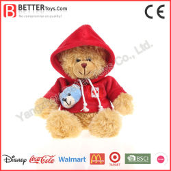 Comercio al por mayor las decoraciones de Navidad de juguetes de peluche Osito de peluche suave para los niños/niños y bebés