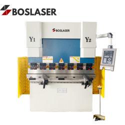 Nós67K 30t 1600 Aço de metal e placa de chapa de aço inoxidável dobradeira CNC hidráulica na folha dobrando Bender Machine