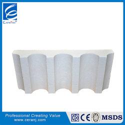 Personalizable de aluminio de alto vacío de fibra cerámica de forma aislada