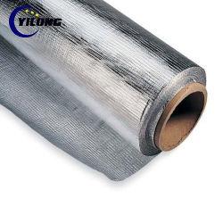 L'isolation thermique de tissu ignifuge en fibre de verre d'aluminium