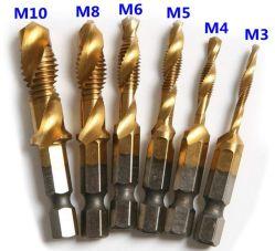 L'acier HSS HSS 4241 pouce la queue de foret hexagonal de la vis