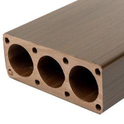 ASA-ПВХ Co-Extrusion Композитный пластик из светлого дерева WPC поручни Уложите окантовочные рейки декоративные материалы