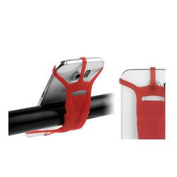 Cinghia flessibile elastica su ordinazione poco costosa del telefono delle cellule del silicone di grande promozione
