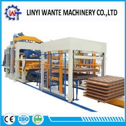 Presse hydraulique Qt10-15 Sable automatique /les cendres volantes/ la brique et de machine à fabriquer des blocs de ciment