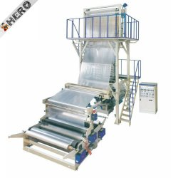 علامة البطل عالية السرعة ضربة PP وطباعة PVC المستخدمة آلة لفيلم البلاستيك الصغير في باكستان