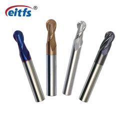 Preço mais barato Qualidade 45HRC 55HRC 65HRC 2/4 Flute carboneto de tungsténio Ball Ponta Mill para o aço