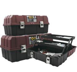 3개의 층 기계설비 휴대용 Foldable 큰 크기 수공구 상자
