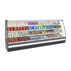 D'éclairage LED interne de la moitié de supermarché Multideck Cabinet chiller