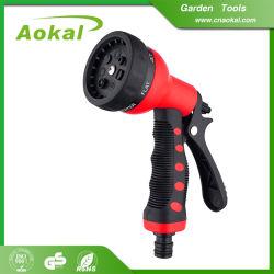 7 Spuitpistool van het Water van de Autowasserette van patronen het Plastic Regelbare Voor het Schoonmaken