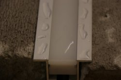 IP67/IP68 Metro Apt03-Al01 perfil de aluminio LED TIRA DE LEDS con 2835SMD LED Neon Flex para luz lineal