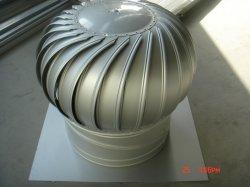 No último piso do alojamento da turbina eólica 300mm Chimney Ventilador da turbina