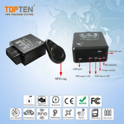 Real Time Tracking Auto Gps Obd-Alarm Met Remote Diagnostic Tk228-Ez