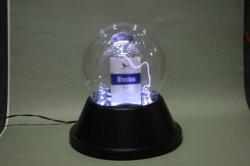 Dome de dupla luz de plasma para exibir a caixa