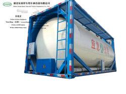 20FTの不用なオイルおよび水の液体沈積物、あく不用な液体(SS30408 ISOTANK)のための25m3ステンレス鋼タンク容器