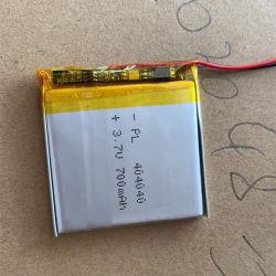 Lipo 직업적인 재충전용 건전지 304040 세륨 리튬 철 건전지를 가진 404040의 504040의 3.7V 700mAh Customizable 리튬 이온 건전지