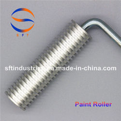 30mm de diámetro 75mm de longitud de los rodillos ranurados de aluminio de plástico reforzado con fibra
