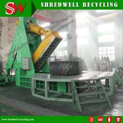 OTR Gummireifen-Scherblock für Ausschnitt-Abfall/verwendeten/Schrott-großen Bergbau-Reifen
