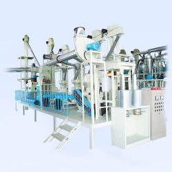 Industrielle Mais Maismehl Mühle Pflanze Maismehl Grieß Verarbeitung Maschine