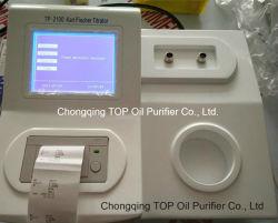 Método de Karl Fischer Analizador de humedad de aceite del transformador (TP-2100)