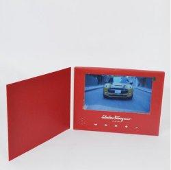 Nouvelle carte de voeux vidéo LCD